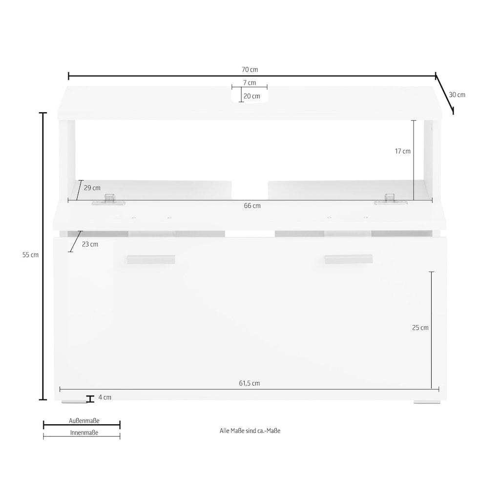 Places of Style Waschbeckenunterschrank »Rowan«, Breite 70 cm
