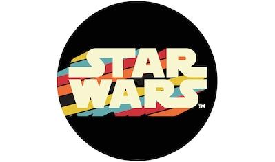 Komar Fototapete »Star Wars Typeface«, bedruckt-Comic-Retro-mehrfarbig, BxH: 128x128... kaufen