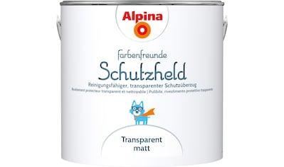 ALPINA Wand -  und Deckenfarbe »Farbenfreunde Schutzheld Schutzüberzug«, Transparent, matt, 2,5 l kaufen