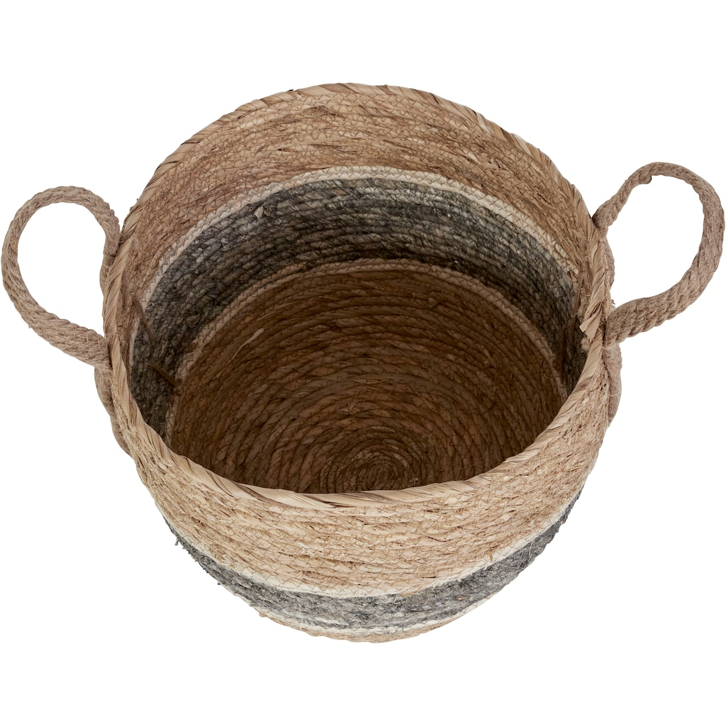 COUCH♥ Dekokorb »Körbchengrößen«, (Set, 3 St.), COUCH Lieblingsstücke