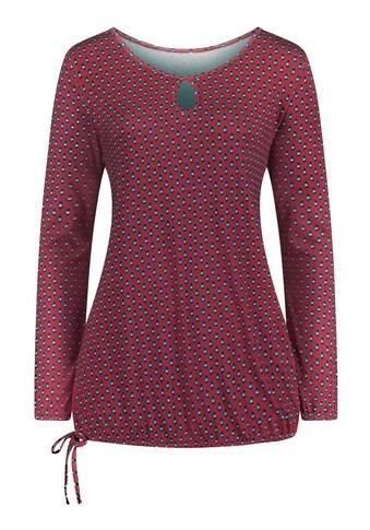 Ambria Shirt mit fixiertem Bindeband am Saum kaufen