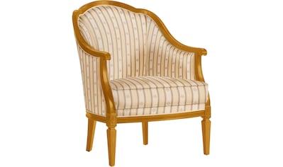 SELVA Sessel »Villa Borghese«, Modell 1374, kirschbaumfarbig antik kaufen