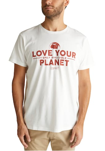 Esprit T-Shirt, mit großem Frontprint kaufen