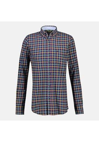 LERROS Karohemd »Flanell«, mit Button-Down-Kragen kaufen