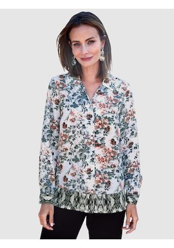 Paola Hemdbluse, mit floralem Alloverdruck kaufen