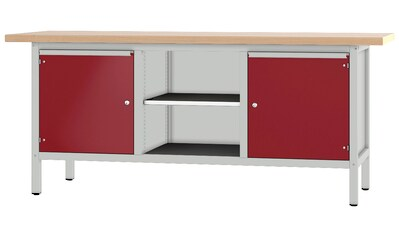 PADOR Werkbank »31 S 454«, Höhe/Länge: 85,5x200 cm kaufen