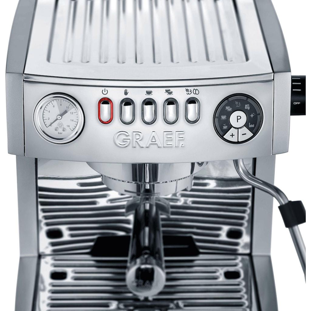 """Graef Siebträgermaschine »""""marchesa"""" ES850EUSET«, inkl. Kaffeemühle CM 800 im Wert von 169,99 UVP"""