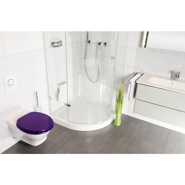 SANILO WC-Sitz »Glitzer«