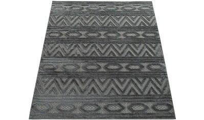 Paco Home Teppich »Demension 712«, rechteckig, 18 mm Höhe, Kurzflor mit 3D-Muster und... kaufen