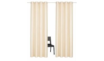 Vorhang, »Glow«, Guido Maria Kretschmer Home&Living, Ösen 2 Stück kaufen