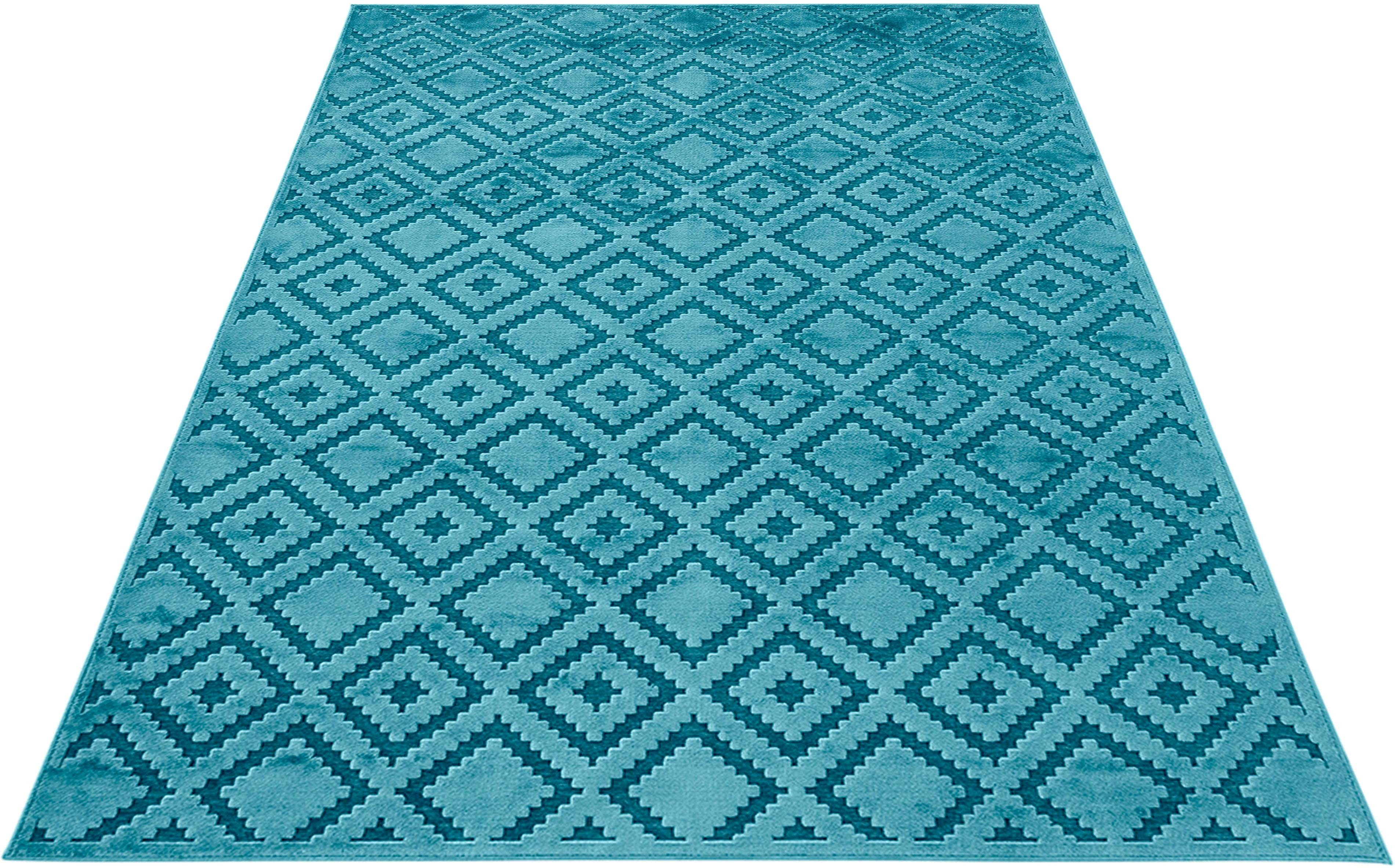 teppich iris mint rugs rechteckig h he 4 mm. Black Bedroom Furniture Sets. Home Design Ideas