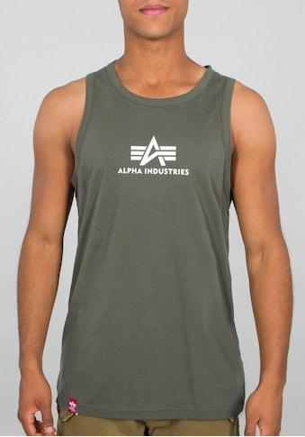 Alpha Industries Tanktop »BASIC TANK« kaufen
