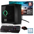 Hyrican »Alpha 6469 + AOC AG322QC4« Gaming-PC-Komplettsystem (Intel, Core i9, GeForce)