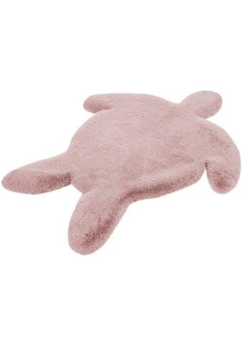 Lüttenhütt Kinderteppich »Schildkröte«, Motivform, 36 mm Höhe kaufen