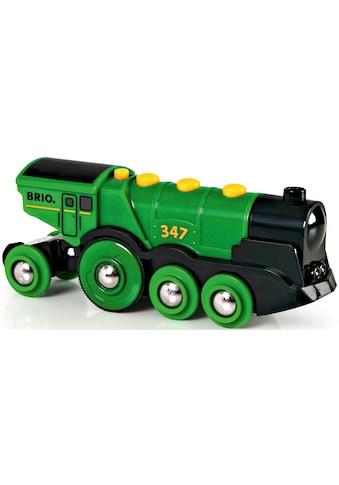 BRIO® Spielzeug-Eisenbahn »BRIO® WORLD Grüner Gustav Batterielok«, mit Soundfunktion,... kaufen