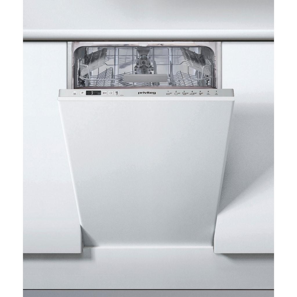 Privileg vollintegrierbarer Geschirrspüler »RSIC 3M19«, RSIC 3M19 (2), 10 Maßgedecke