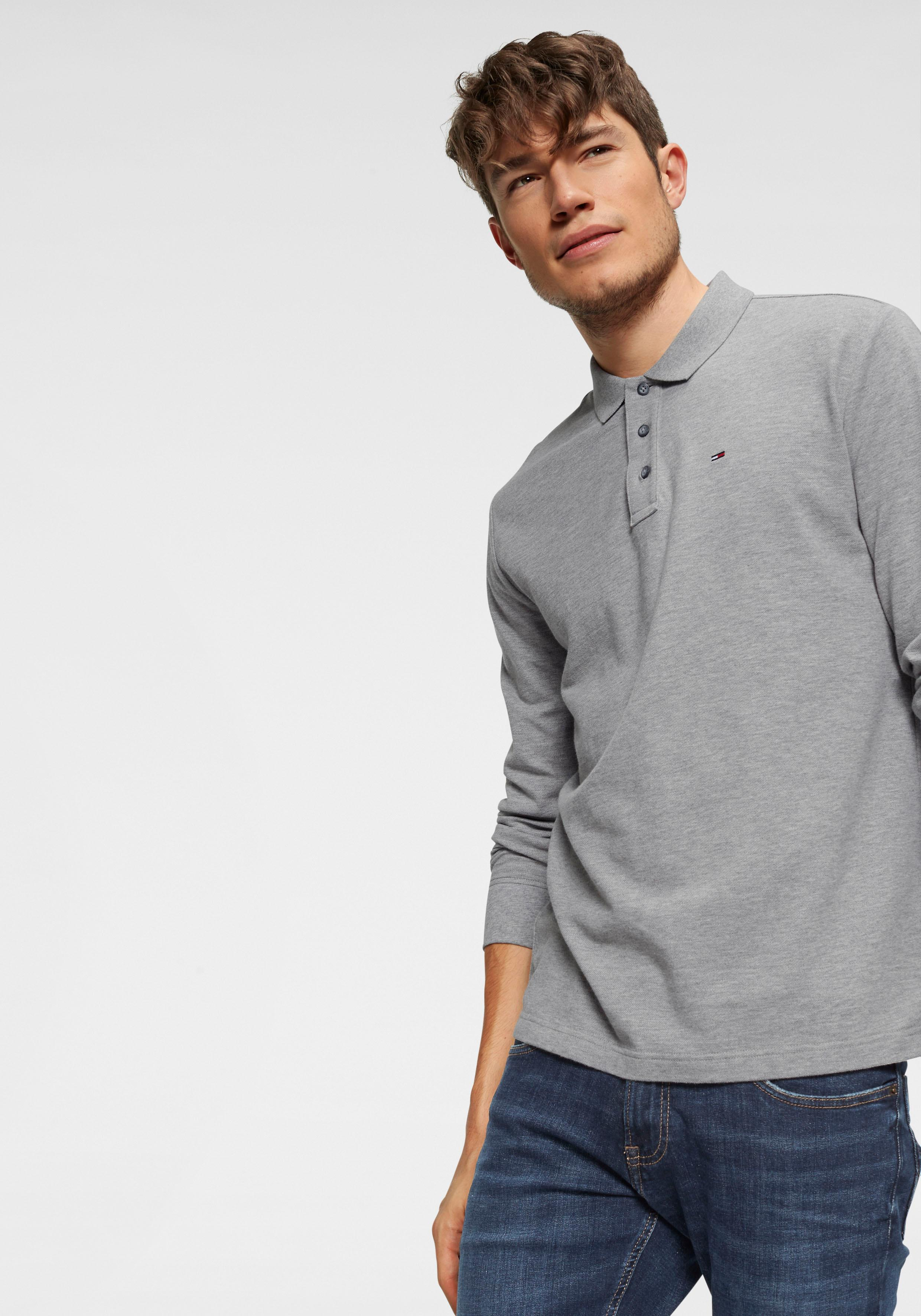 TOMMY JEANS Langarm-Poloshirt TJM ESSENTIAL LS POLO   Bekleidung > Shirts > Langarm Shirts   Tommy Jeans