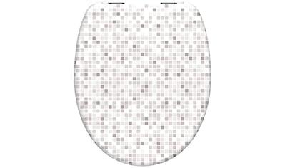 Eisl WC-Sitz »Mosaik«, mit Absenkautomatik kaufen