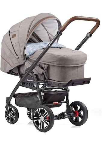 Gesslein Kombi-Kinderwagen »F4 Air+« mit Tragetasche »C2 Compact, Stein meliert/Lama«,... kaufen