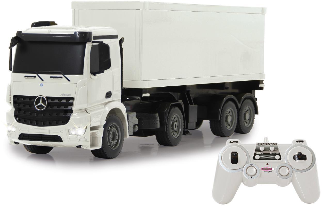 JAMARA RC LKW mit Container, »Mercedes Benz Aro...