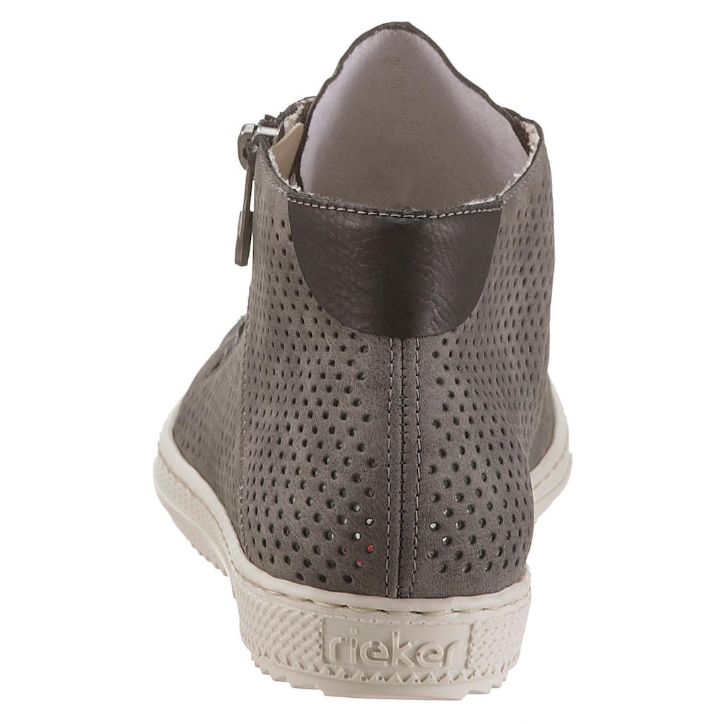 Rieker Sneaker, mit Reißverschluss