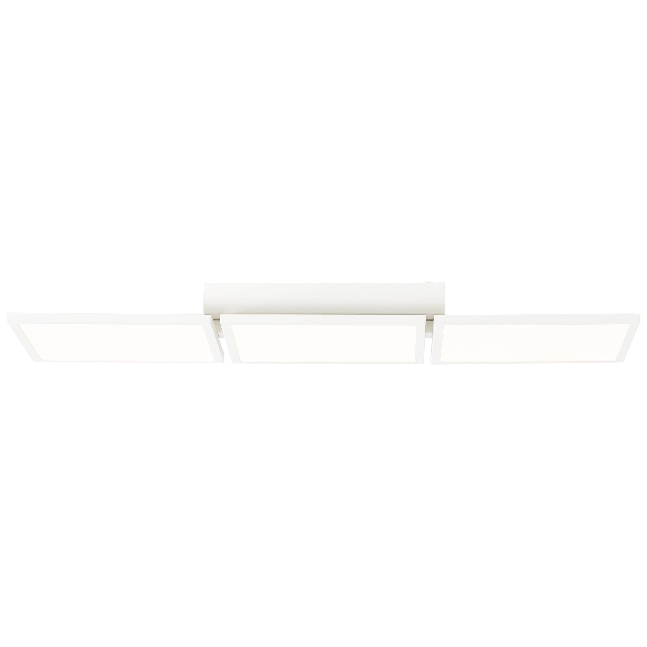 AEG Garek LED Deckenaufbau-Paneel 77x25cm sand/weiß