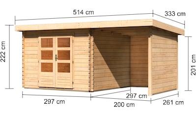 KONIFERA Gartenhaus, »Schloßsee 5«, (Set) kaufen