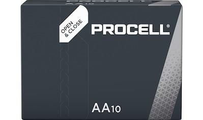 Duracell »Batterie Alkaline, Mignon, AA, LR06, 1.5V, Procell, Box (10 - Pack)« Batterie kaufen