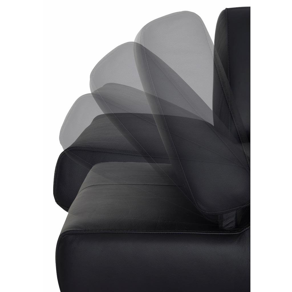 W.SCHILLIG 2-Sitzer »taboo«, mit Normaltiefe, inklusive Armlehnenverstellung