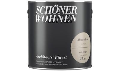 SCHÖNER WOHNEN FARBE Wand -  und Deckenfarbe »Architects' Finest  -  Alexandria«, 2 l kaufen