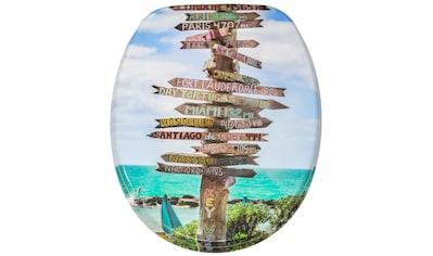 Sanilo WC-Sitz »Key West«, mit Absenkautomatik kaufen