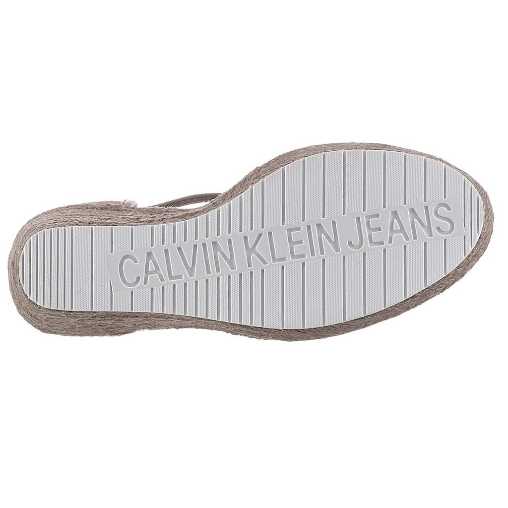 Calvin Klein High-Heel-Pumps »SHEAKI«, mit CK Logo auf der Spitze