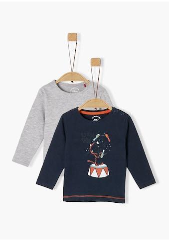 s.Oliver Doppelpack - Langarmshirts_für Babys kaufen