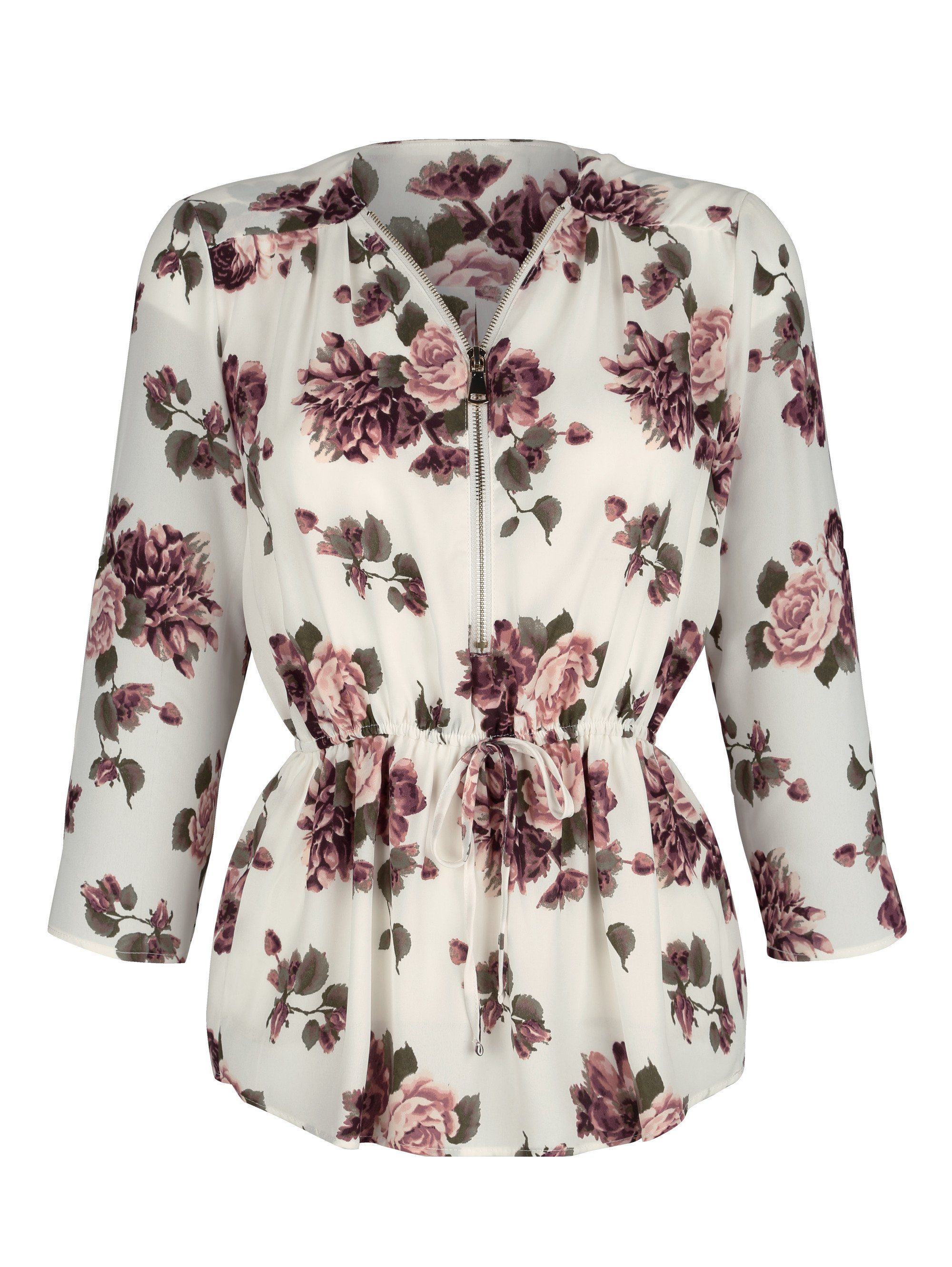 Dress In Tunika mit schönen Rosendruck rundum | Bekleidung > Tuniken > Sonstige Tuniken | Polyester | DRESS IN