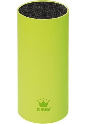 KING Messerblock »soft touch«, 1 tlg., mit rutschhemmender Oberfläche kaufen