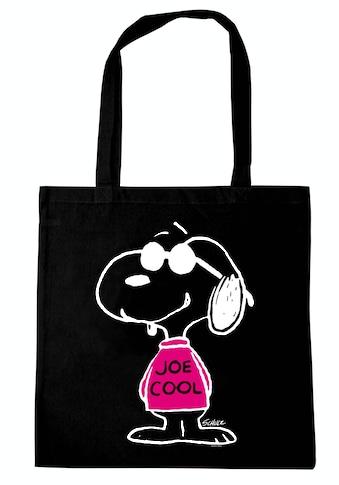LOGOSHIRT Henkeltasche »Peanuts - Snoopy Joe Cool«, mit lizenziertem Snoopy-Print kaufen