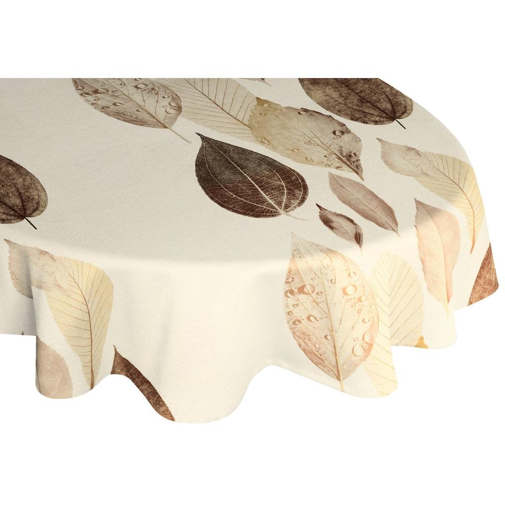 Wirth Tischdecke »MAREK«, oval