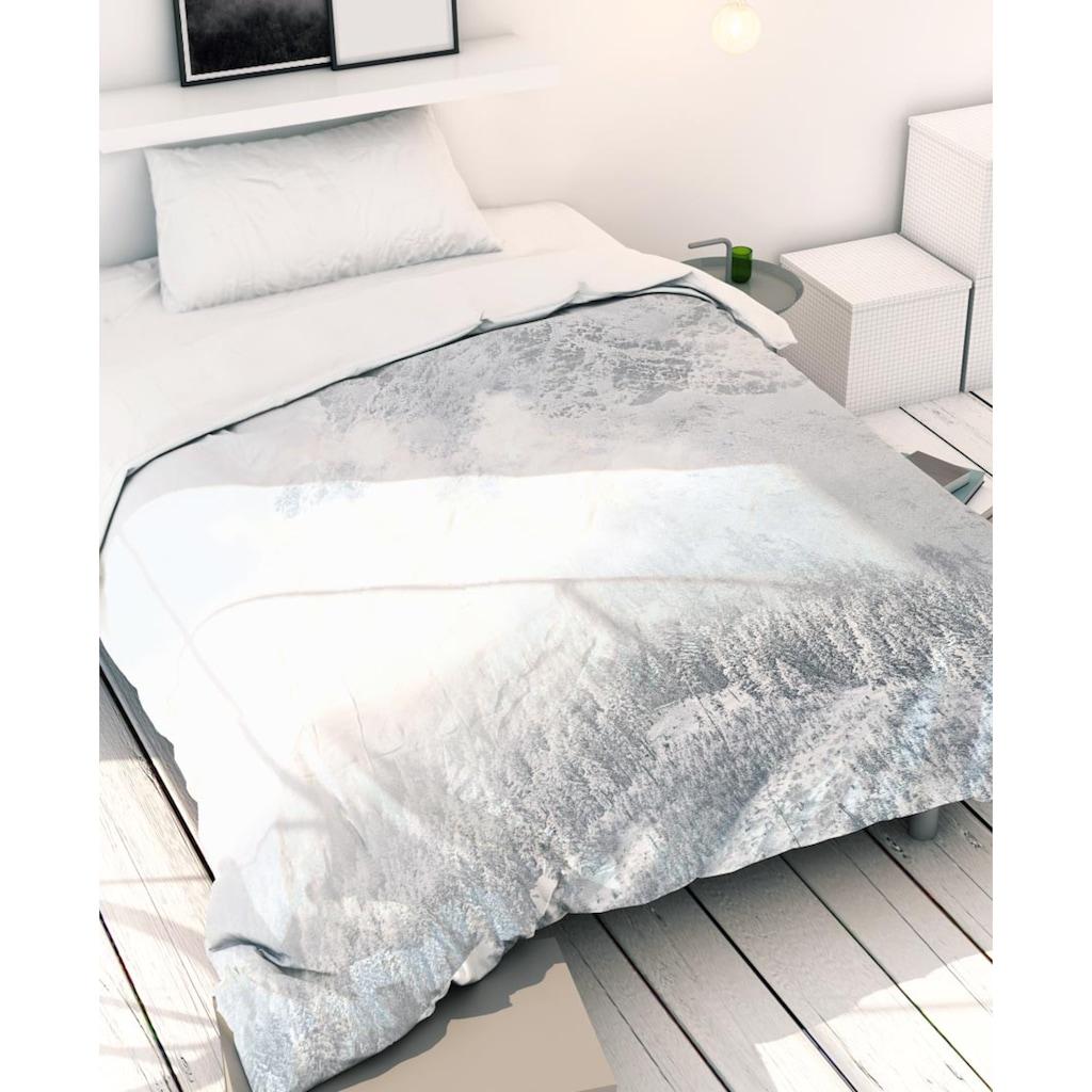 Juniqe Bettwäsche »White Mountain 1«, In vielen weiteren Designs erhältlich