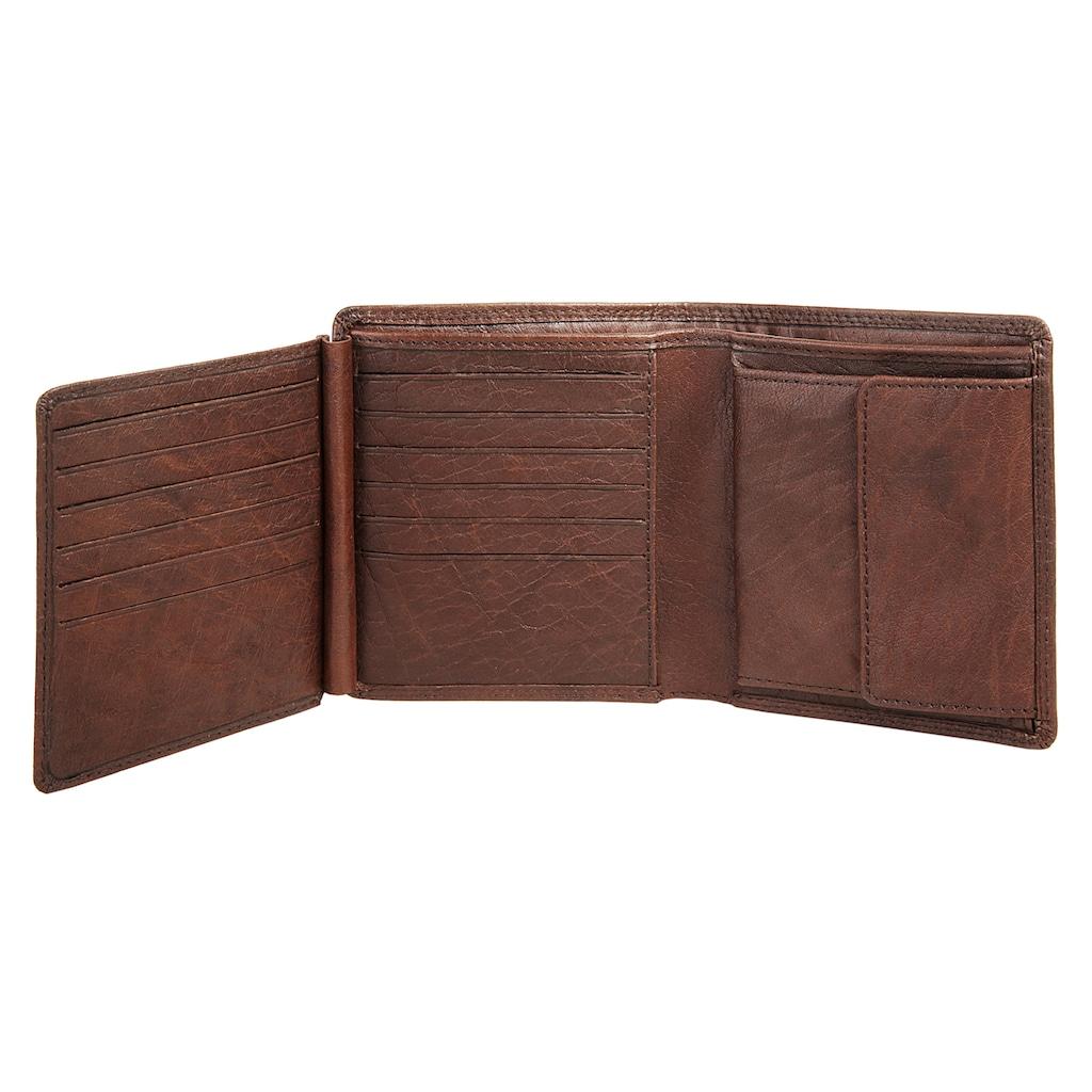BODENSCHATZ Geldbörse, 2fach klappbar