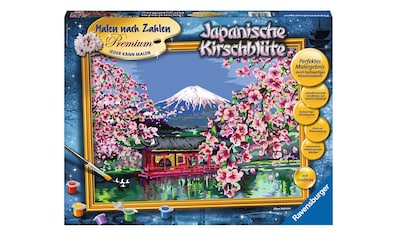 Ravensburger Malen nach Zahlen »Japanische Kirschblüte«, Made in Europe, FSC® - schützt Wald - weltweit kaufen