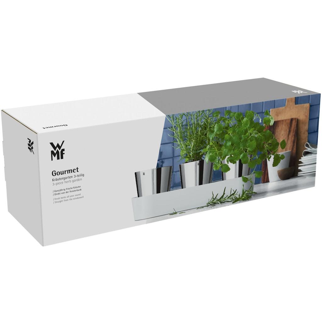 WMF Kräutertopf, (7 St.), mit Bewässerungssystem, Indoor