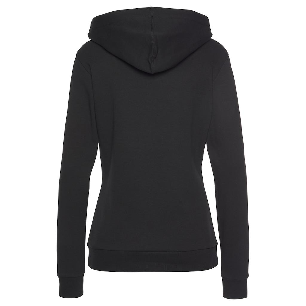 Bench. Kapuzensweatshirt, mit glänzender Logostickerei