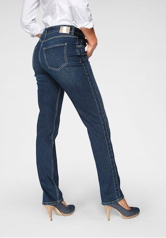 MAC Stretch-Jeans »Melanie Divided«, Streckender Einsatz am Bein kaufen