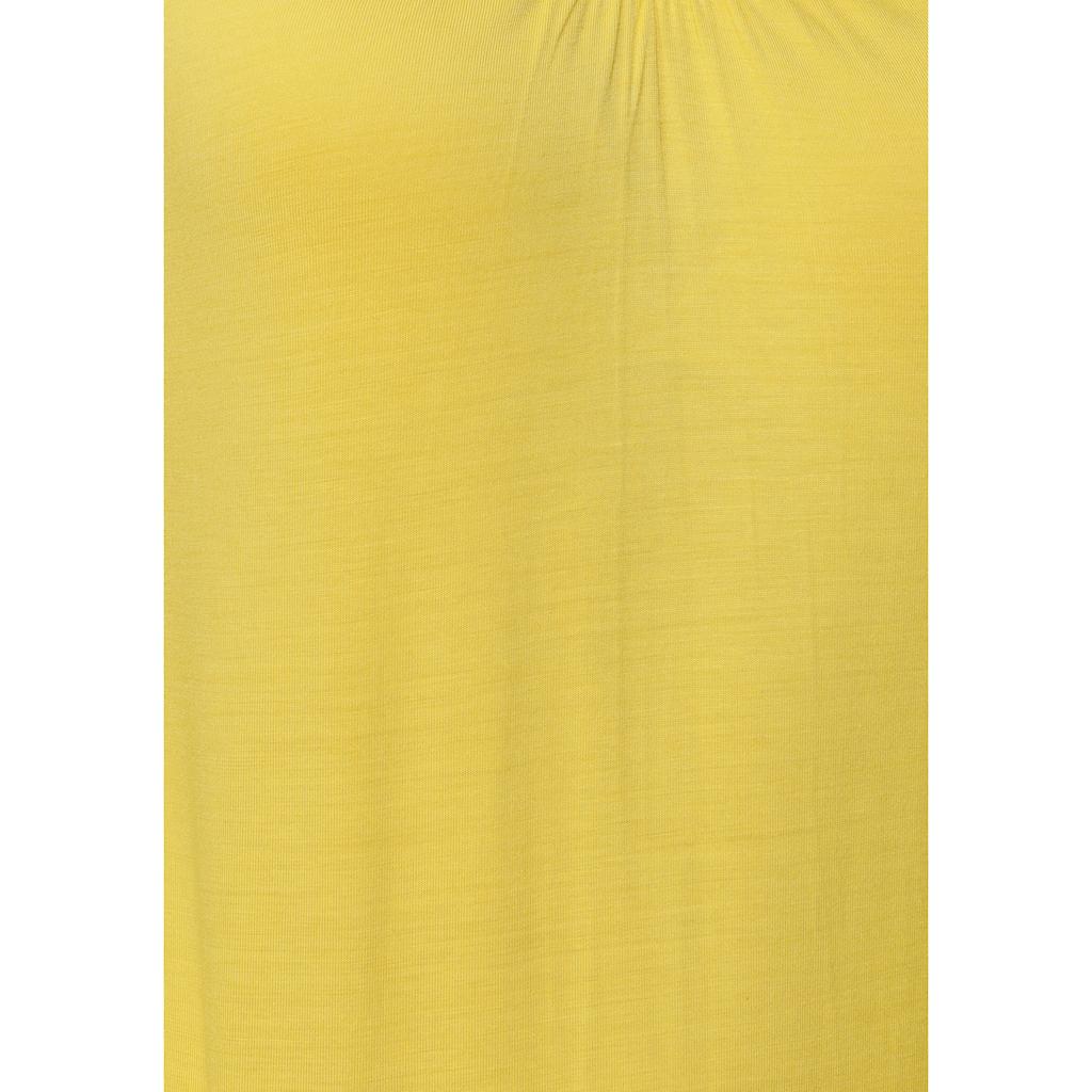 Flashlights Langarmshirt, mit Raffung am Ausschnitt