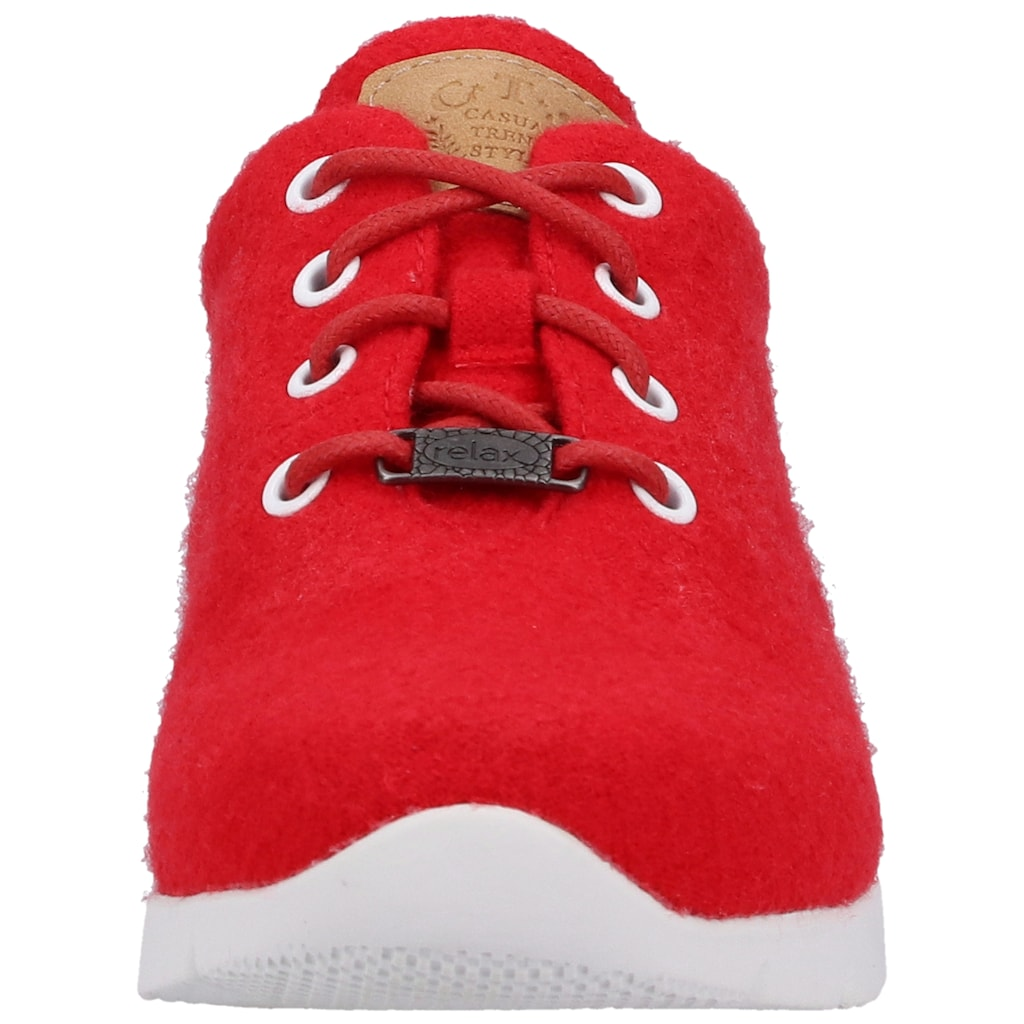 Jana Sneaker »Lederimitat/Textil«