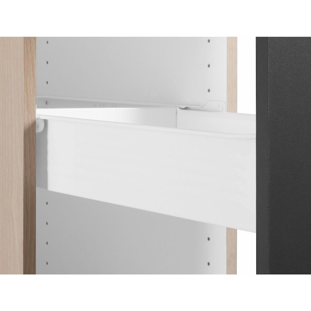 OPTIFIT Apothekerschrank »Faro«, 2 Auszüge, Metallgriffe, Breite 30 cm