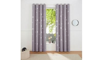 my home Gardine »Blackout Curtain With Foil Print Star« kaufen
