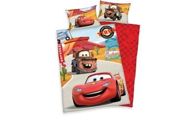 Kinderbettwäsche »Cars on Road«, Disney kaufen