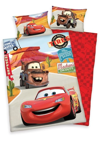 Kinderbettwäsche »Cars on Road«, Disney kaufen