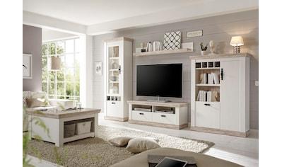 Wohnzimmermöbel weiß landhaus  Wohnzimmer im Landhausstil auf Rechnung & Raten kaufen | BAUR